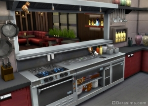 Стол шеф-повара в Sims 4