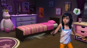 Монстр под кроватью в Симс 4