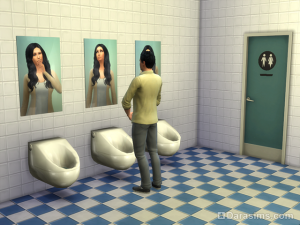 Проверка измененного перечня взаимодействий с предметом в игре The Sims 4