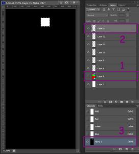 Создание альфа-канала для текстуры