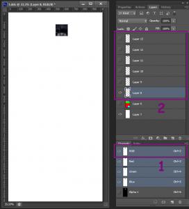 Подготовка текстуры в Photoshop