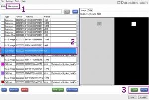 Редактирование карты блеска в Sims 4 Studio