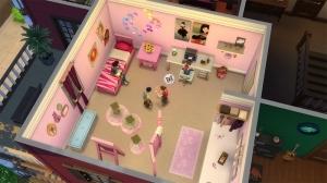 еще вариант детской комнаты в каталоге sims 4 детская комната