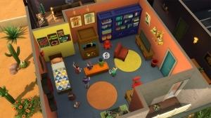 один из вариантов детской комнаты