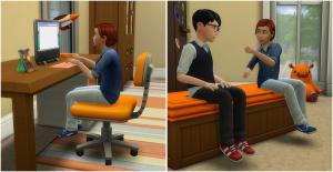 Покупка через компьютер и обмен картами между детьми в Симс 4