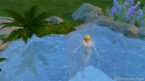 Плавательный натуральный водоем из бассейна