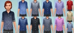 Рубашки для мальчиков в детском каталоге