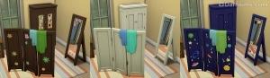 Мебель для детской комнаты в Симс 4