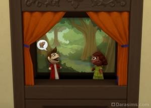 Заблудшие в лесу в кукольном театре
