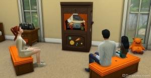 Кукольный театр в The Sims 4 Детская комната