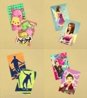 Детские постеры на стену в Симс 4