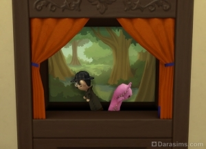 Существо из Гранит Фоллз в кукольном театре