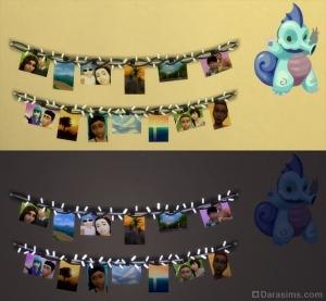 Гирлянды с фотографиями для детской комнаты