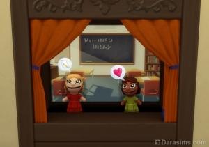 Школьная жизнь в кукольном театре