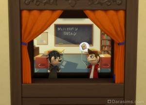 Поиски вора тетрадей в кукольном театре