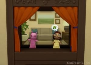 Мой маленький монстр в кукольном театре