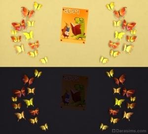 Бабочки для детской комнаты