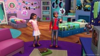 Каталог «Симс 4 Детская комната» — официальный скриншот