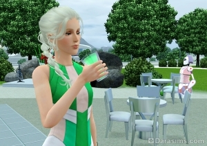 Синтетический напиток в Симс 3 Вперед в будущее