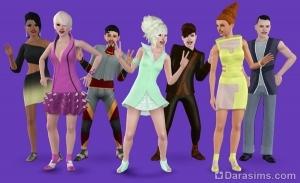 Одежда будущего в Симс 3
