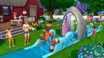 Водная дорожка в каталоге «The Sims 4 На заднем дворе»