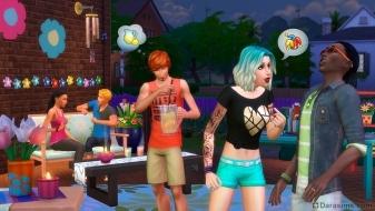 Вечеринка в каталоге «The Sims 4 На заднем дворе»