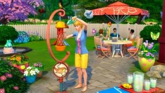 Кормушка для птиц в каталоге «The Sims 4 На заднем дворе»