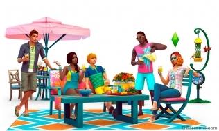 Рендер для каталога «The Sims 4 На заднем дворе»