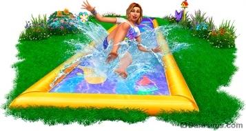 Рендер для обложки каталога «The Sims 4 На заднем дворе»