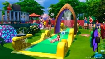Водная дорожка «Челюсти смерти!» в каталоге «The Sims 4 На заднем дворе»