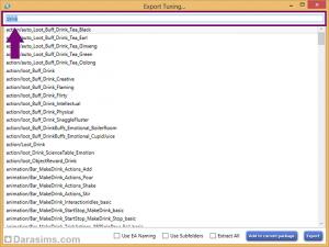 Поиск файлов настроек по ключевому слову