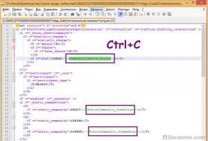 Редактирование файла настроек игровых взаимодействий в Sims 4 Studio