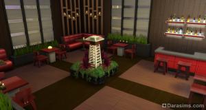 Ресторан в восточном стиле