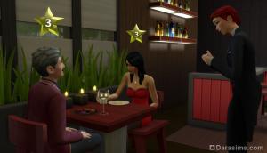 Общение с посетителями ресторана