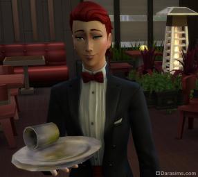 Хозяин ресторана в Sims 4