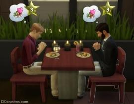 Посетители довольны едой в ресторане