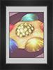 Капельки фруктового студня в гнезде из пены