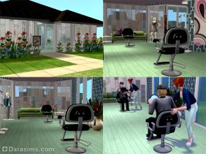 пример салона красоты в sims 2 бизнес
