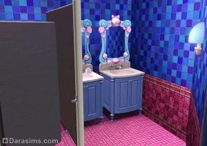 Симс 3 общественный туалет