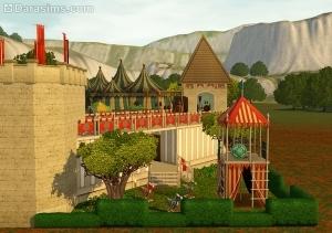 детская игровая зона в наборе фестиваль эпохи возрождения в the store