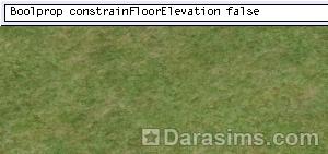 строительный код constrain floor elevation