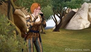Свисток для вызова птиц в Симс Средневековье