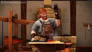 Кузнец в The Sims Medieval
