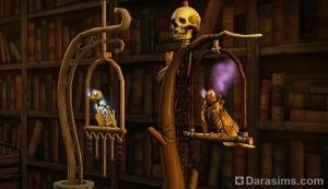 Необычные птицы Средневековья: попугай-зомби и механический сокол