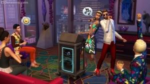 Караоке в «The Sims 4 Жизнь в городе»