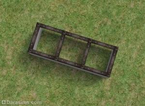 Урок по строительству наклонных окон в Симс 2