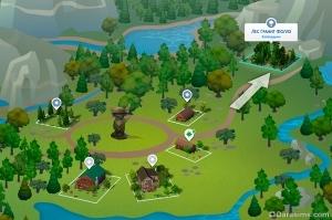 Убежище отшельника в Гранит Фоллз: скрытая локация в «Симс 4 В поход!»