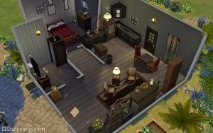 The Sims 4 Дом отшельника