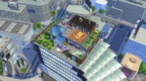 пентхаус в sims 4 жизнь в городе