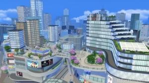 Сан Мишуно в The Sims 4 Жизнь в городе